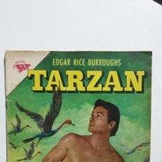 Tebeos: TARZÁN N° 124 - FOTO LEX BARKER - ORIGINAL EDITORIAL NOVARO. Lote 133370570