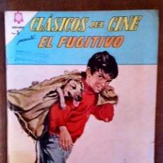Tebeos: COMIC CLASICOS DEL CINE EL FUGITIVO 1965. BUEN ESTADO. Lote 133382410