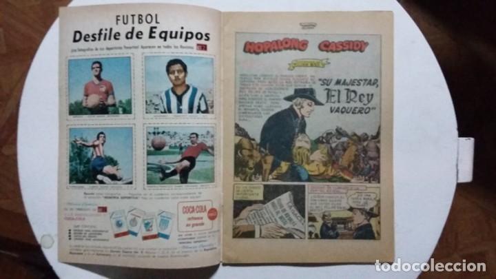 Tebeos: Hopalong Cassidy n° 166 - original editorial Novaro - Foto 2 - 133443314