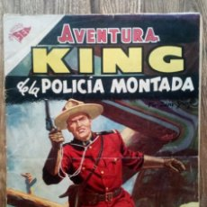 Tebeos: COMIC AVENTURA KING DE LA POLICIA MONTADA Nº29 1956. Lote 133616558