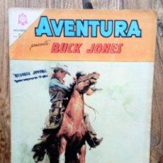 Tebeos: COMIC AVENTURA BUCK JONES 1964. BUEN ESTADO. Lote 133630334