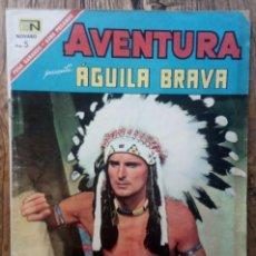 Tebeos: COMIC AVENTURA AGUILA BRAVA1967. Lote 133631410