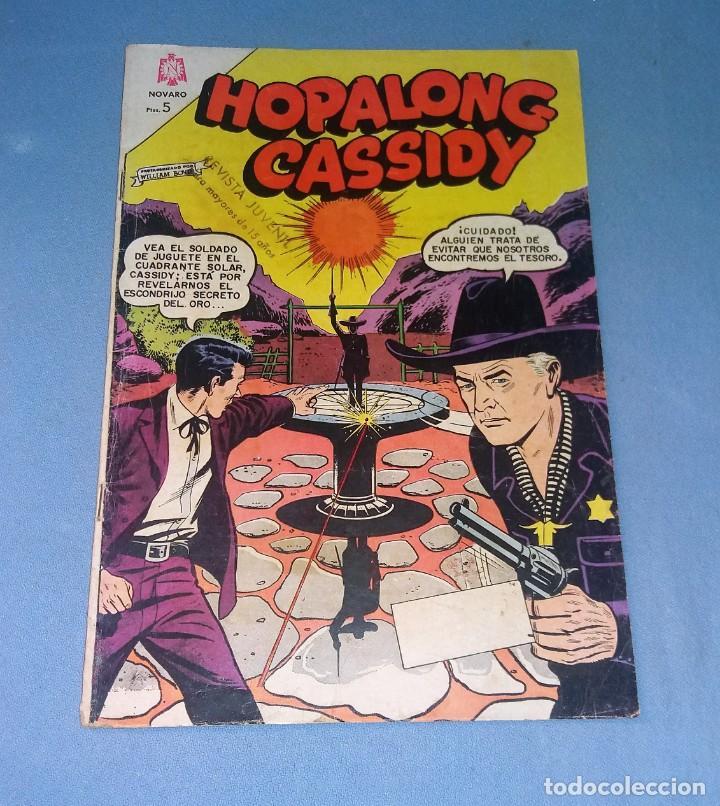 HOPALONG CASSIDY DE NOVARO ORIGINAL EN MUY BUEN ESTADO VER FOTO (Tebeos y Comics - Novaro - Hopalong Cassidy)
