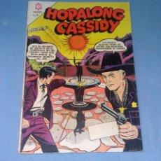 Tebeos: HOPALONG CASSIDY DE NOVARO ORIGINAL EN MUY BUEN ESTADO VER FOTO. Lote 133737062