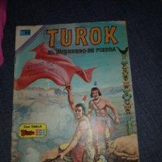 Tebeos: TUROK EL GUERRERO DE PIEDRA NUM.84 DE NOVARO. Lote 133743607