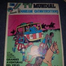 Tebeos: TV MUNDIAL HARLEM GLOBERTROTTERS DE NOVARO. Lote 133745074