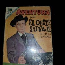 Tebeos: AVENTURA ORESENTA EL SALVAJE OESTE NOVARO563. Lote 133748169