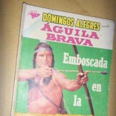 Tebeos: DOMINGOS ALEGRES N.273 DE 1959- AGUILA BRAVA. Lote 133780814