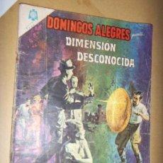 Tebeos: DOMINGOS ALEGRES N.563 1965 LA DIMENSION DESCONOCIDA . Lote 133780866