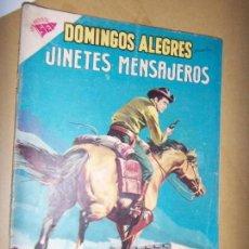 Tebeos: DOMINGOS ALEGRES N.290 1959 JINETES MENSAJEROS. Lote 133780890