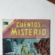 Tebeos: CUENTOS DE MISTERIO N° 155 - ORIGINAL EDITORIAL NOVARO. Lote 133793722