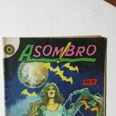 Tebeos: EL RETORNO DE LOS MUERTOS - ASOMBRO N° 73 - ORIGINAL EDITORIAL NOVARO. Lote 133794358
