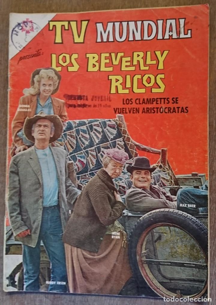 COMIC TV MUNDIAL LOS BERVERLY RICOS 1966. BUEN ESTADO (Tebeos y Comics - Novaro - Otros)