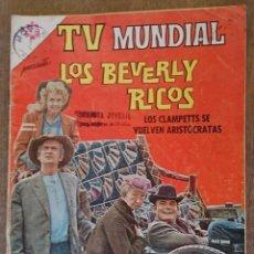Tebeos: COMIC TV MUNDIAL LOS BERVERLY RICOS 1966. BUEN ESTADO. Lote 134004222