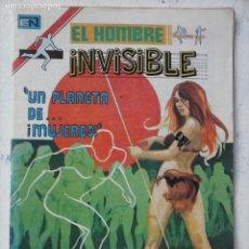 Tebeos: NOVARO EL HOMBRE INVISIBLE Nº 9 SERIE AGUILA. Lote 134046734
