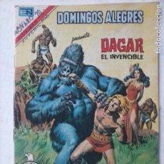 Tebeos: NOVARO - DOMINGOS ALEGRES Nº 1311 DAGAR EL INVENCIBLE - AGUILA. Lote 134046958