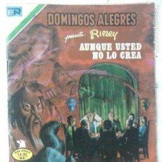 Tebeos: NOVARO - DOMINGOS ALEGRES Nº 1304 - RIPLEY, AUNQUE USTED NO LO CREA - AGUILA. Lote 134047206