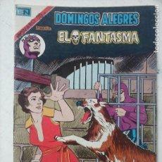 Tebeos: NOVARO - DOMINGOS ALEGRES Nº 1307 - EL FANTASMA - AGUILA. Lote 134047450