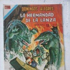 Tebeos: NOVARO - DOMINGOS ALEGRES Nº 1119 - HERMANOS DE LA LANZA - AGUILA. Lote 134047526