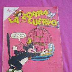 Tebeos: LA ZORRA Y EL CUERVO Nº 101 AÑO 1959. NOVARO . Lote 134048974