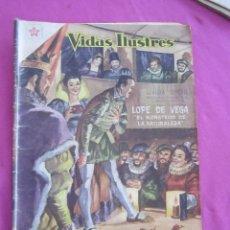 Tebeos: LOPE DE VEGA Nº 36 AÑO 1959. VIDAS ILUSTRES NOVARO . Lote 134049354