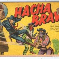 Tebeos: HACHA BRAVA # 25 EL MISTERIO DEL RASCACIELOS MUCHNIK 1956 HOPALONG CASSIDY VIGILANTE 48 P EXCELENTE. Lote 134056322