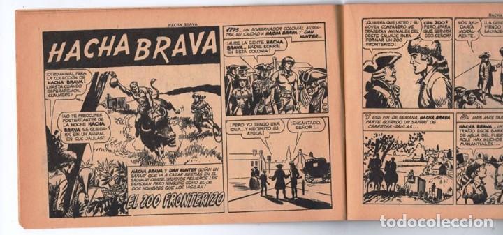 Tebeos: HACHA BRAVA # 25 EL MISTERIO DEL RASCACIELOS MUCHNIK 1956 HOPALONG CASSIDY VIGILANTE 48 P EXCELENTE - Foto 3 - 134056322
