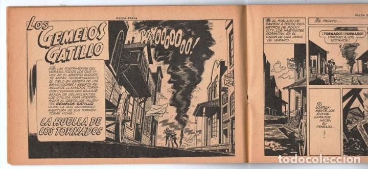 Tebeos: HACHA BRAVA # 25 EL MISTERIO DEL RASCACIELOS MUCHNIK 1956 HOPALONG CASSIDY VIGILANTE 48 P EXCELENTE - Foto 5 - 134056322