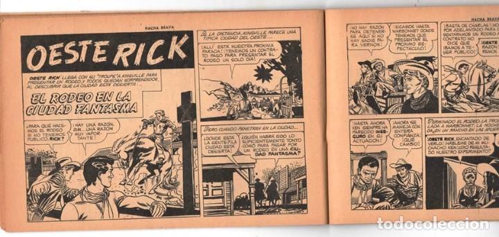 Tebeos: HACHA BRAVA # 25 EL MISTERIO DEL RASCACIELOS MUCHNIK 1956 HOPALONG CASSIDY VIGILANTE 48 P EXCELENTE - Foto 6 - 134056322