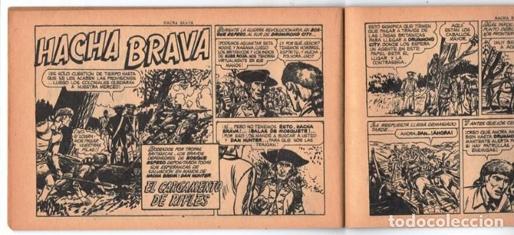 Tebeos: HACHA BRAVA # 25 EL MISTERIO DEL RASCACIELOS MUCHNIK 1956 HOPALONG CASSIDY VIGILANTE 48 P EXCELENTE - Foto 7 - 134056322