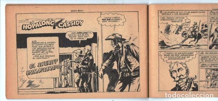Tebeos: HACHA BRAVA # 25 EL MISTERIO DEL RASCACIELOS MUCHNIK 1956 HOPALONG CASSIDY VIGILANTE 48 P EXCELENTE - Foto 8 - 134056322