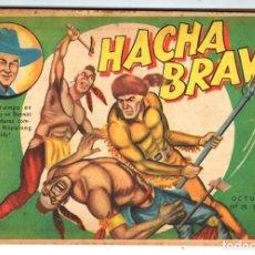 Tebeos: HACHA BRAVA # 26 TOMAJAUK EL CAÑON DE LA VICTORIA MUCHNIK 1956 HOPALONG CASSIDY VIGILANTE 48 P EXCEL. Lote 134056662