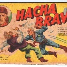 Tebeos: HACHA BRAVA # 27 TOMAJAUK FONTERIZOS WEST POINT MUCHNIK 1956 HOPALONG CASSIDY VIGILANTE 48 P EXCELEN. Lote 134057046