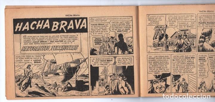 Tebeos: HACHA BRAVA # 27 TOMAJAUK FONTERIZOS WEST POINT MUCHNIK 1956 HOPALONG CASSIDY VIGILANTE 48 P EXCELEN - Foto 4 - 134057046