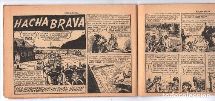 Tebeos: HACHA BRAVA # 27 TOMAJAUK FONTERIZOS WEST POINT MUCHNIK 1956 HOPALONG CASSIDY VIGILANTE 48 P EXCELEN - Foto 7 - 134057046