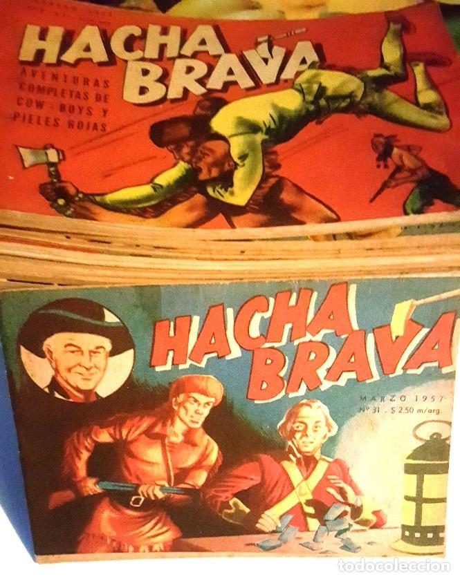 Tebeos: HACHA BRAVA # 27 TOMAJAUK FONTERIZOS WEST POINT MUCHNIK 1956 HOPALONG CASSIDY VIGILANTE 48 P EXCELEN - Foto 10 - 134057046