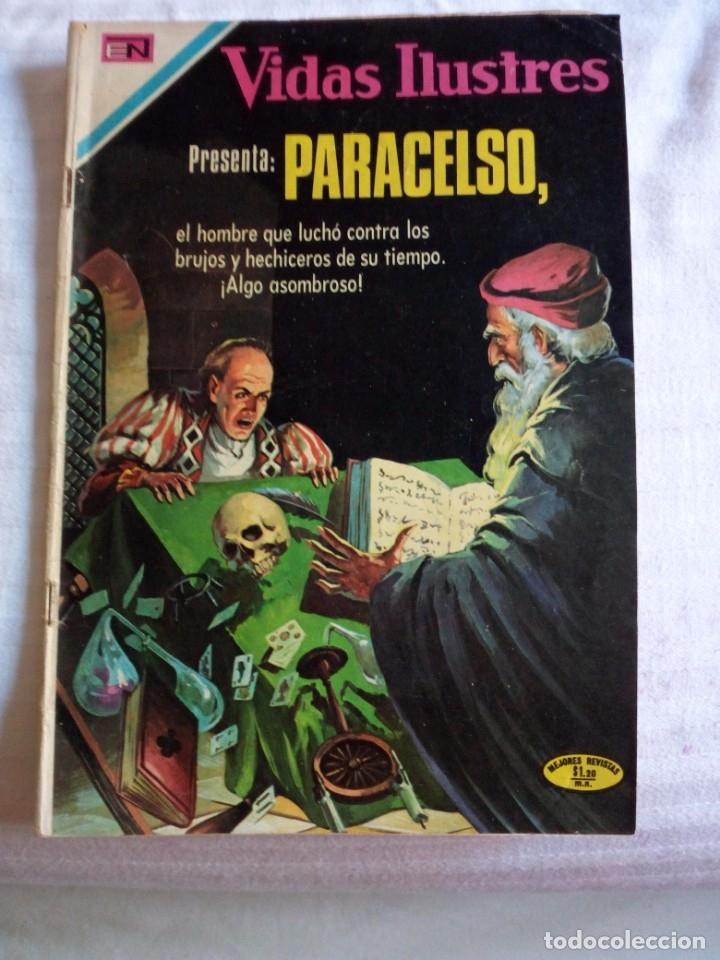PARACELSO VIDAS ILUSTRES NOVARO ¡EJEMPLAR RARO, DE LOS MÁS BUSCADOS! (Tebeos y Comics - Novaro - Vidas ilustres)