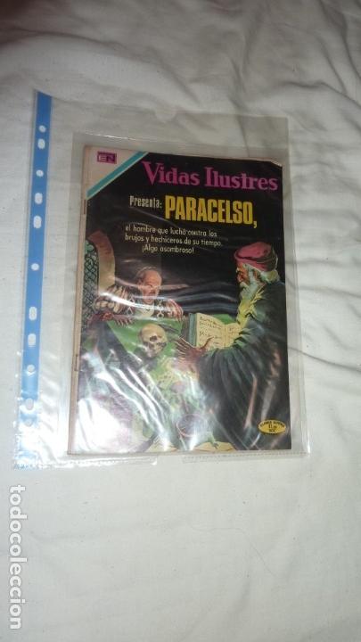 Tebeos: PARACELSO VIDAS ILUSTRES NOVARO ¡EJEMPLAR RARO, DE LOS MÁS BUSCADOS! - Foto 5 - 134096918