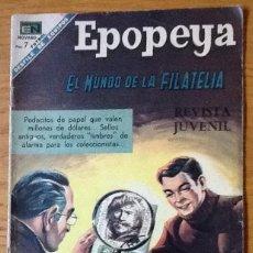 BDs: EPOPEYA, NÚMERO 126, 1968. EL MUNDO DE LA FILATELIA. NOVARO MÉXICO. Lote 134096926