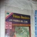 Tebeos: LOS PADRES DEL CINE VIDAS ILUSTRES NOVARO. Lote 134097094