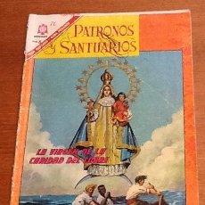 Tebeos: PATRONOS Y SANTUARIOS, NÚMERO 3, 1966. LA VIRGEN DE LA CARIDAD DEL COBRE. NOVARO MEXICO. Lote 134119322