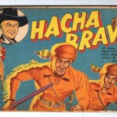 Tebeos: HACHA BRAVA # 24 TOMAJAUK FUERTE CAYUGA MUCHNIK 1956 HOPALONG CASSIDY VIGILANTE 48 P EXCELENTE. Lote 134128806