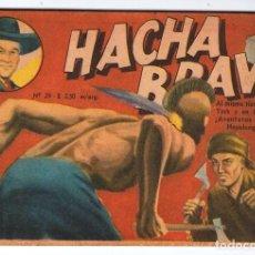 Tebeos: HACHA BRAVA # 29 TOMAJAUK PIONEROS INDIOS MUCHNIK 1957 HOPALONG CASSIDY VIGILANTE 48 P EXCELENTE. Lote 134130994
