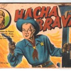 Tebeos: HACHA BRAVA # 30 TOMAJAUK EL JEFE CAUTIVO MUCHNIK 1957 HOPALONG CASSIDY VIGILANTE 48 P EXCELENTE. Lote 134133330