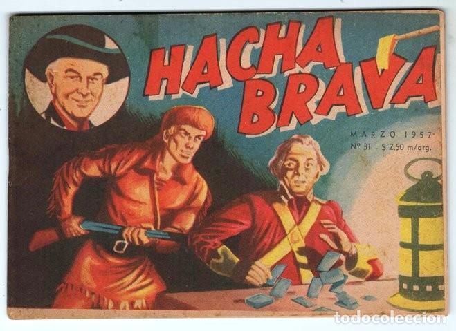 HACHA BRAVA # 31 TOMAJAUK EL REY DEL PELIGRO MUCHNIK 1957 HOPALONG CASSIDY VIGILANTE 48 P EXCELENTE (Tebeos y Comics - Novaro - Hopalong Cassidy)