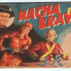 Tebeos: HACHA BRAVA # 31 TOMAJAUK EL REY DEL PELIGRO MUCHNIK 1957 HOPALONG CASSIDY VIGILANTE 48 P EXCELENTE. Lote 134134402