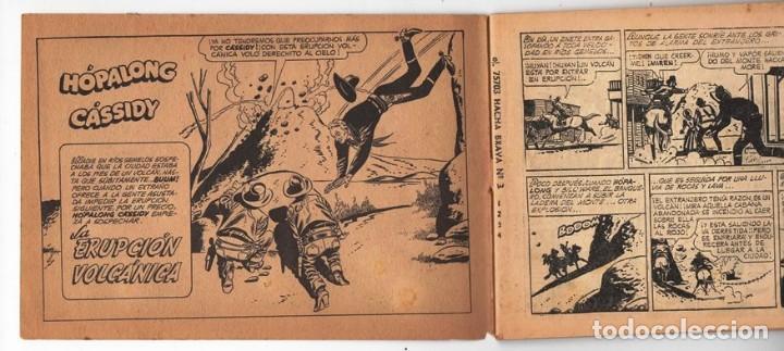 Tebeos: HACHA BRAVA # 31 TOMAJAUK EL REY DEL PELIGRO MUCHNIK 1957 HOPALONG CASSIDY VIGILANTE 48 P EXCELENTE - Foto 3 - 134134402