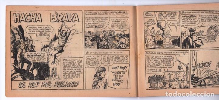 Tebeos: HACHA BRAVA # 31 TOMAJAUK EL REY DEL PELIGRO MUCHNIK 1957 HOPALONG CASSIDY VIGILANTE 48 P EXCELENTE - Foto 4 - 134134402