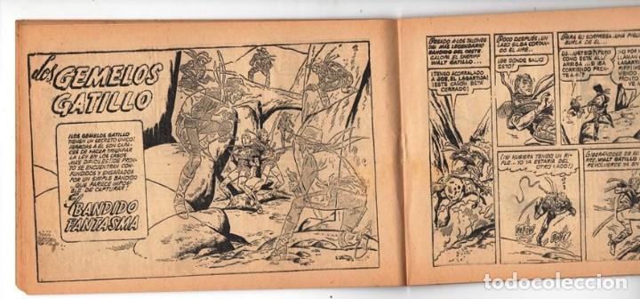 Tebeos: HACHA BRAVA # 31 TOMAJAUK EL REY DEL PELIGRO MUCHNIK 1957 HOPALONG CASSIDY VIGILANTE 48 P EXCELENTE - Foto 6 - 134134402