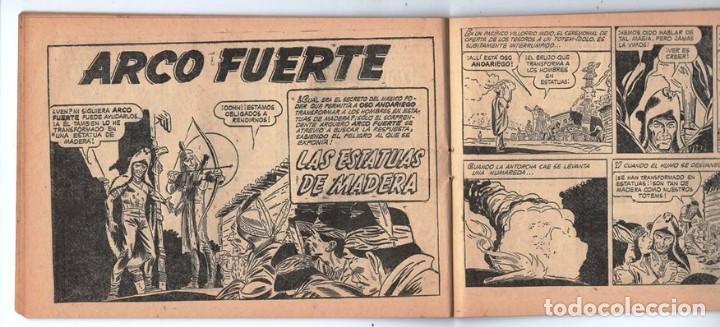 Tebeos: HACHA BRAVA # 31 TOMAJAUK EL REY DEL PELIGRO MUCHNIK 1957 HOPALONG CASSIDY VIGILANTE 48 P EXCELENTE - Foto 7 - 134134402